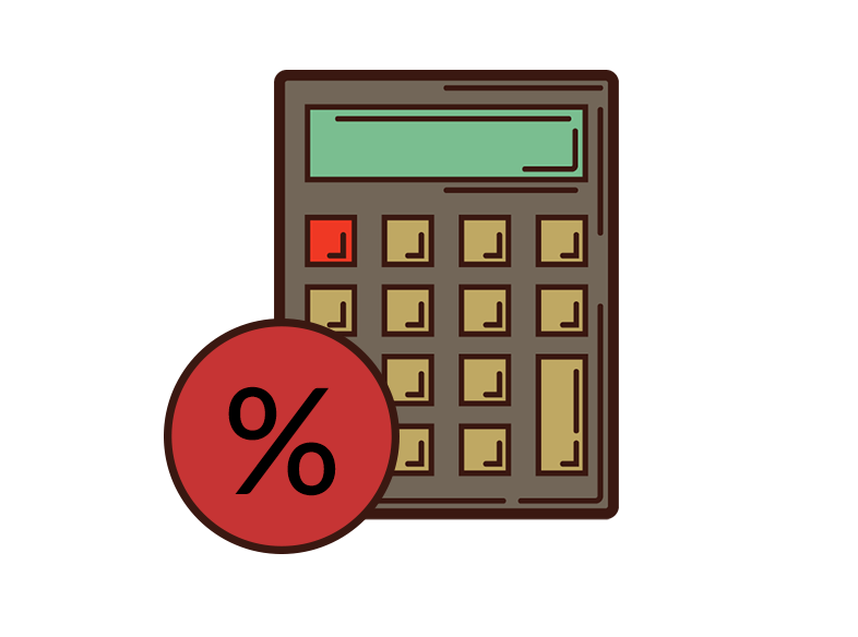 Automatic calculation of VAT on invoice