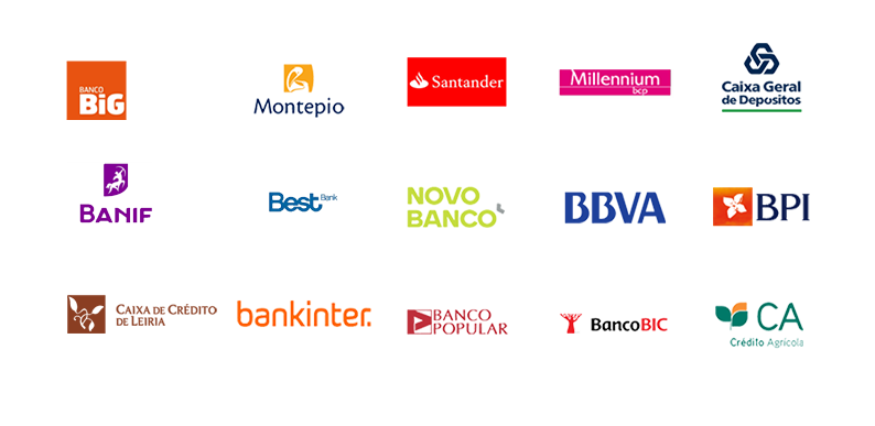Bancos disponibles para sincronización bancaria.